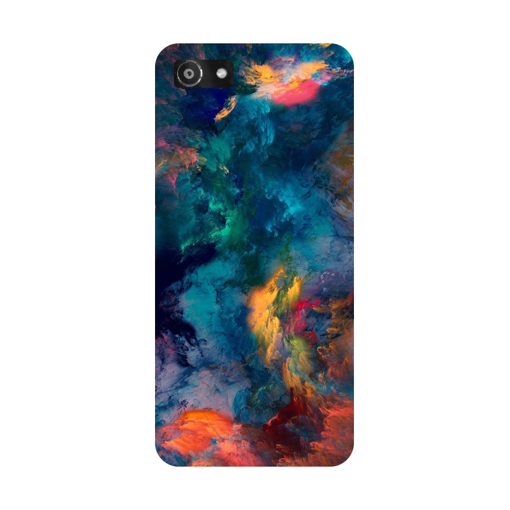 Hamee- Abstract fumes-Printed Hard Back Case Cover For Oppo RealMe 1