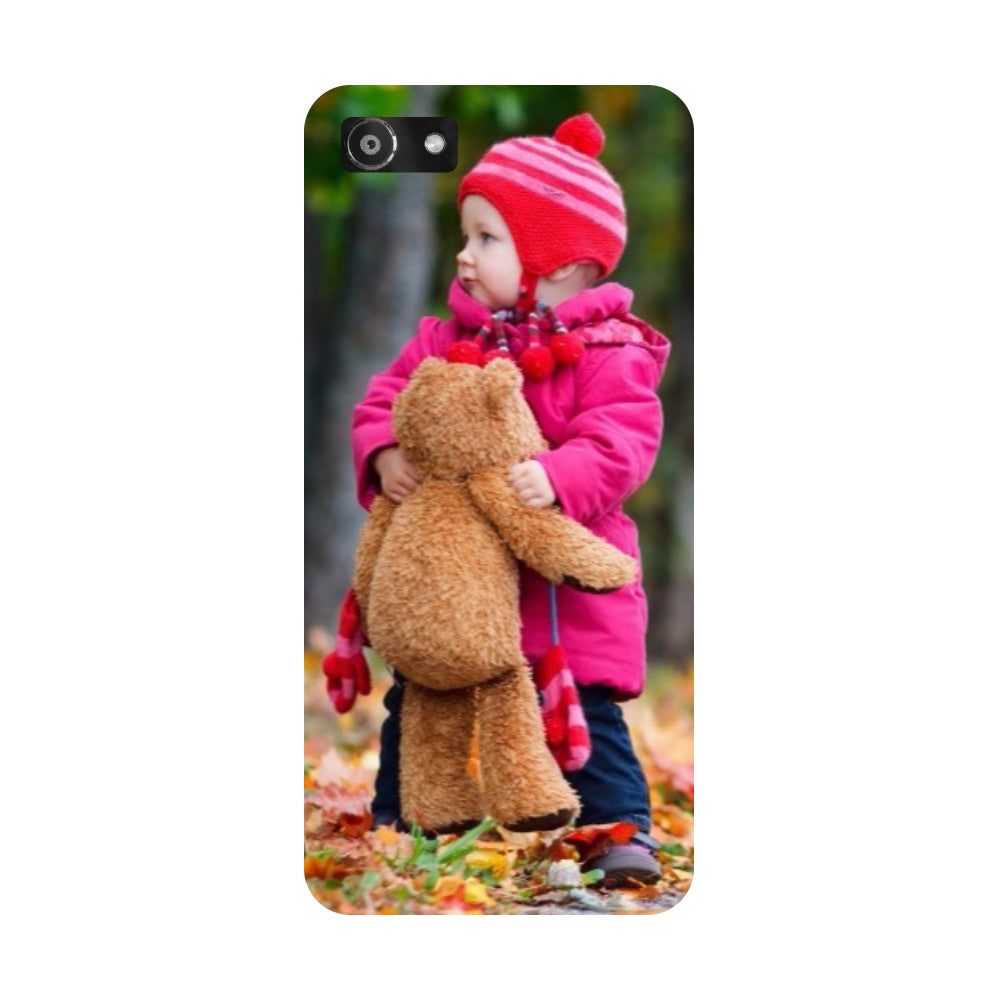 Hamee- Baby-Printed Hard Back Case Cover For Oppo RealMe 1