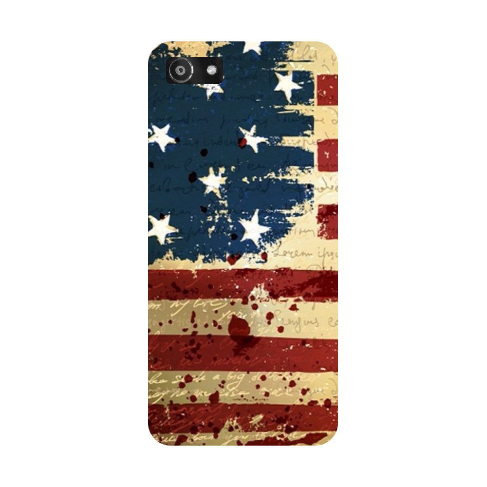 Hamee- Flag-Printed Hard Back Case Cover For Oppo A3-Hamee India