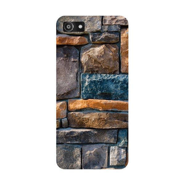 Hamee- Stone Wall-Printed Hard Back Case Cover For Oppo RealMe 1