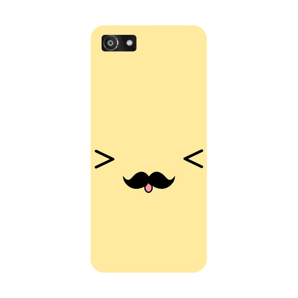 Hamee- Cute Emoji-Printed Hard Back Case Cover For Oppo A3