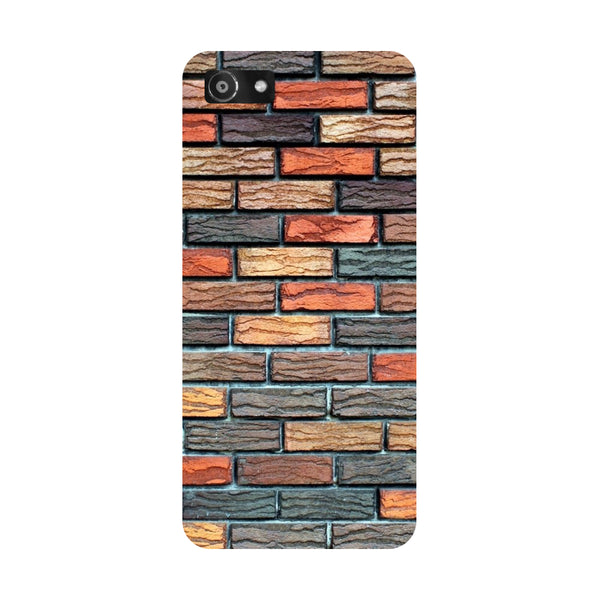 Hamee- Brick wall-Printed Hard Back Case Cover For Oppo A3