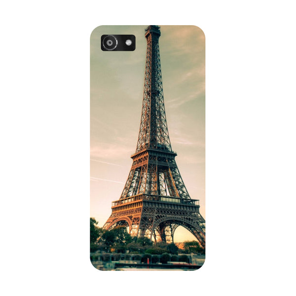 Hamee- Eiffel-Printed Hard Back Case Cover For Oppo A3