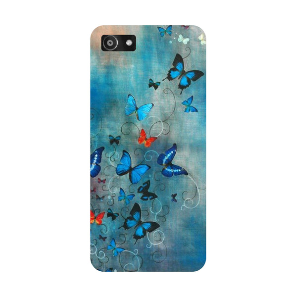 Hamee- Butterflies-Printed Hard Back Case Cover For Oppo A3