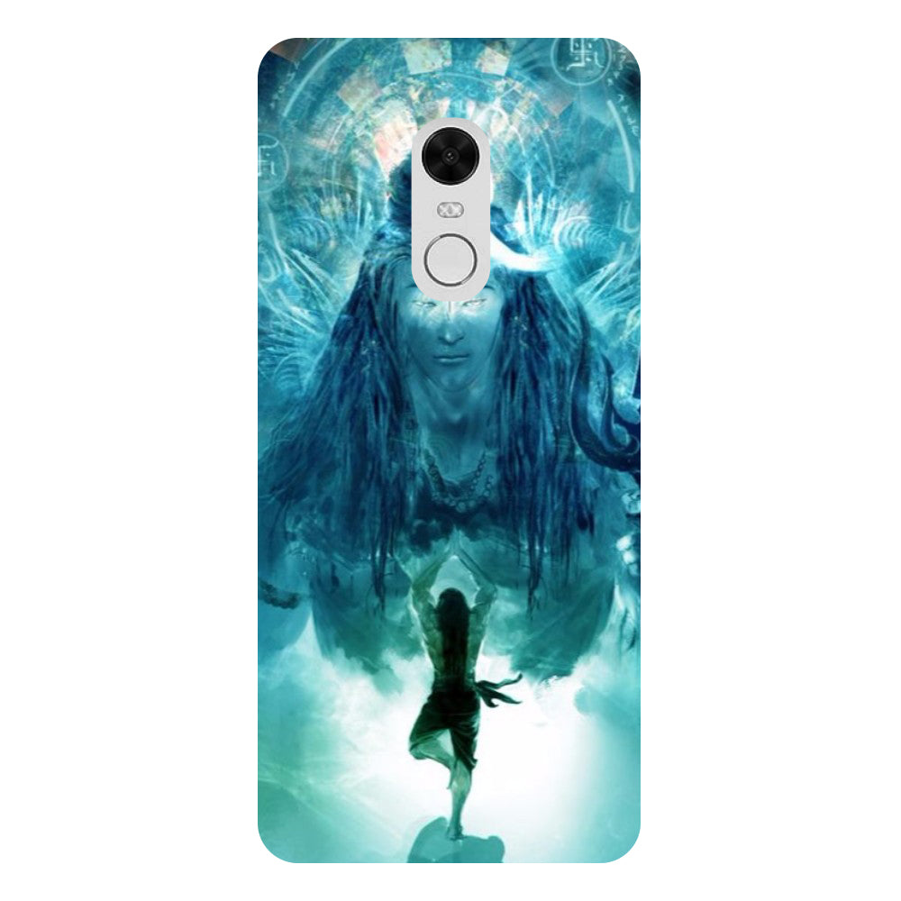 Blue Mahadev - Printed Hard Back Case Cover for Xiaomi Redmi 5 Plus-Hamee India