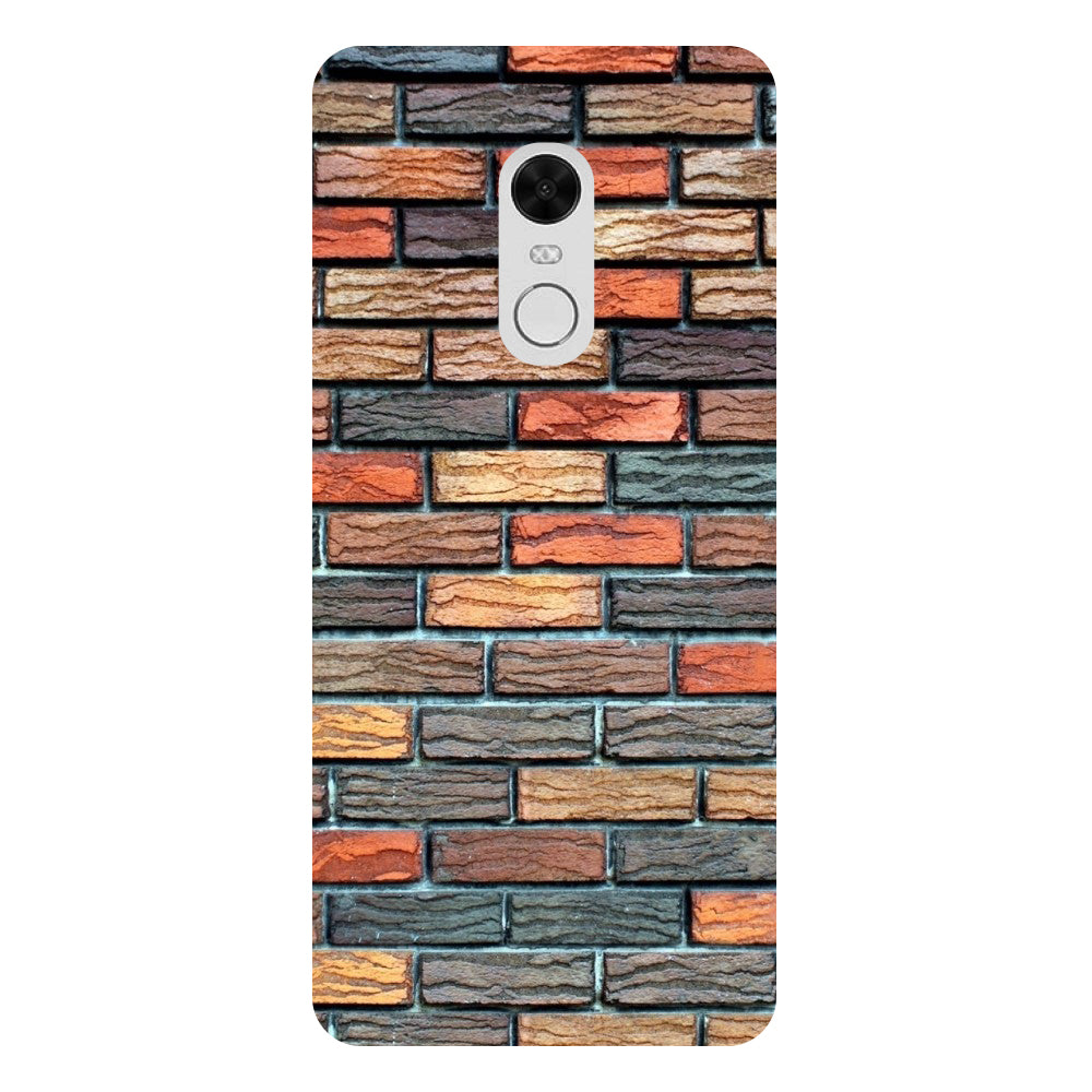Bricks - Printed Hard Back Case Cover for Xiaomi Redmi 5 Plus-Hamee India