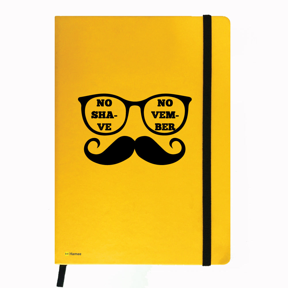 Moochie Specs - Yellow Notebook-Hamee India