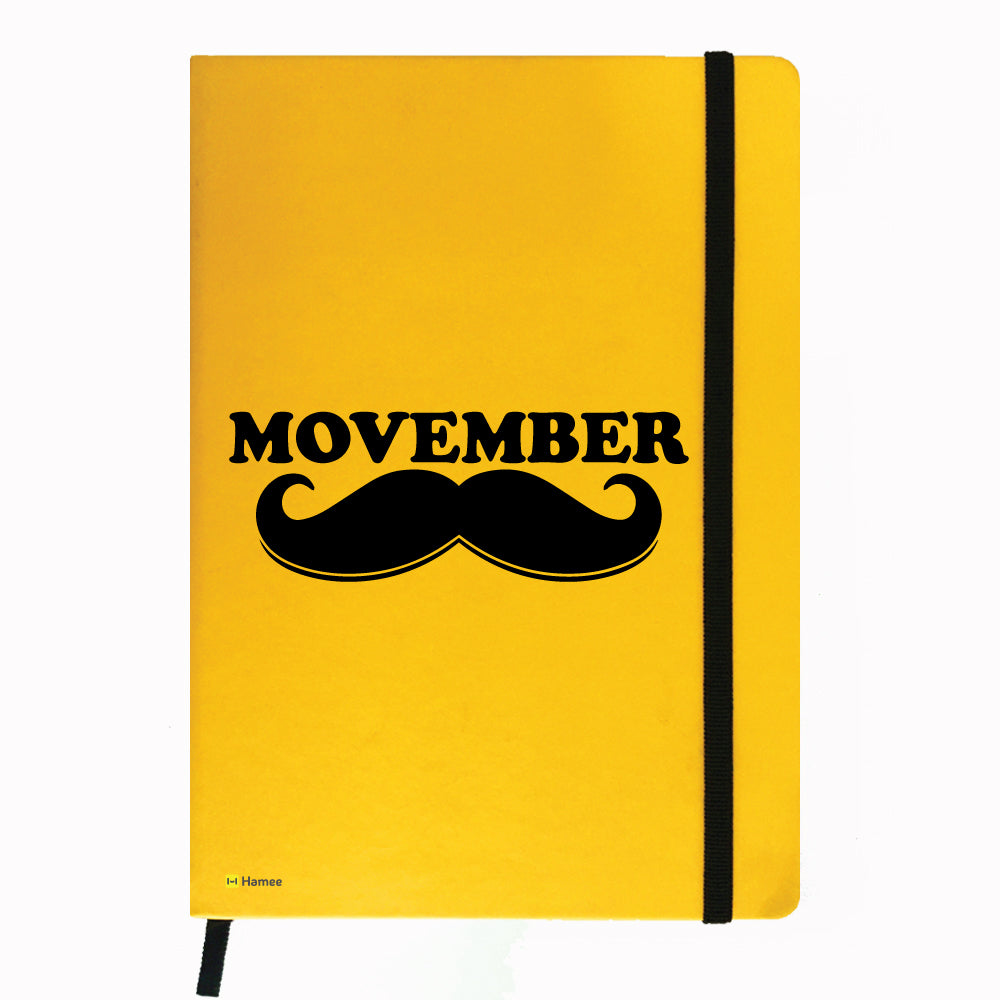 Moochie - Yellow Notebook-Hamee India