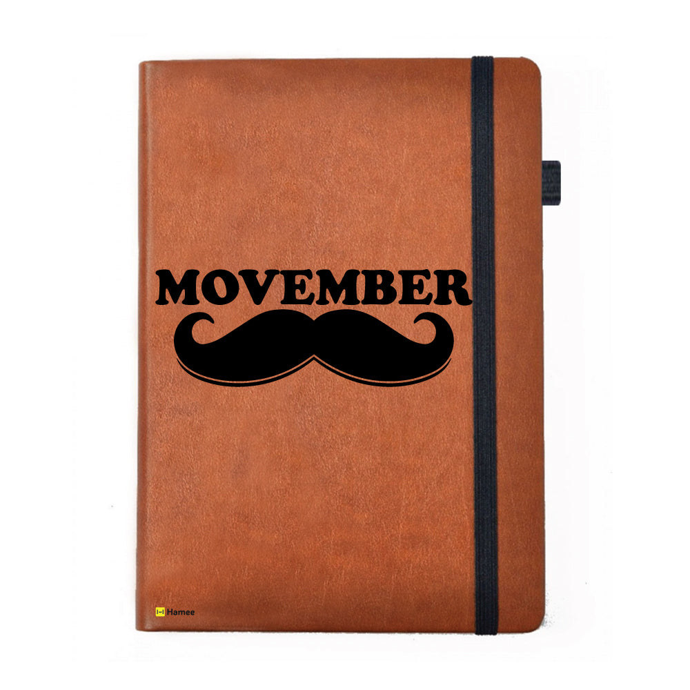 Moochie - Brown Notebook-Hamee India
