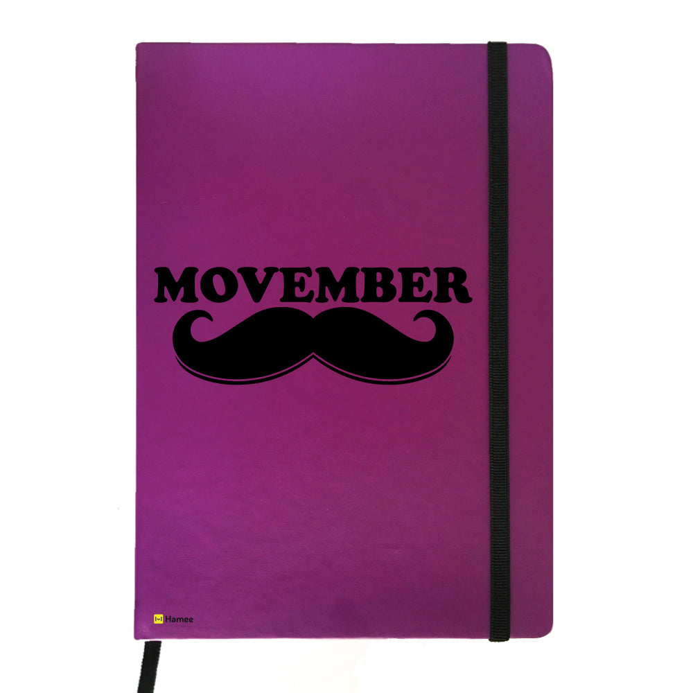 Moochie - Purple Notebook-Hamee India