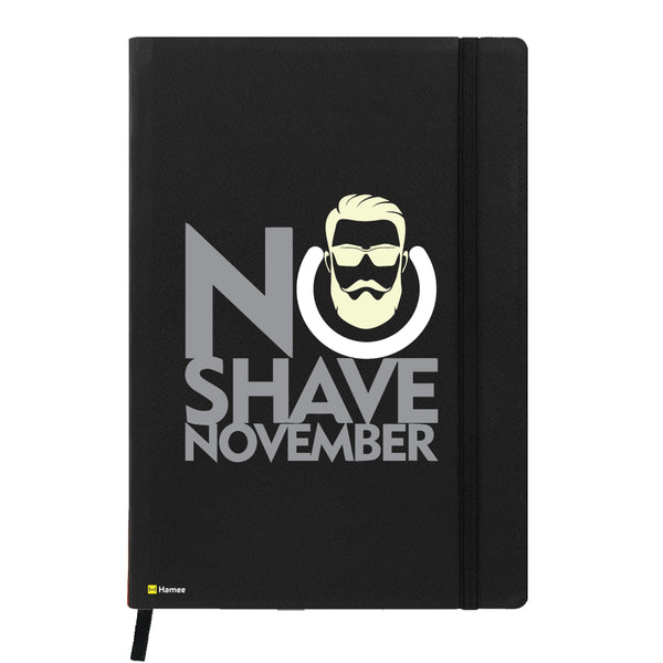 Hamee - Not Shaving is Cool - Black Leather Planner / Organizer