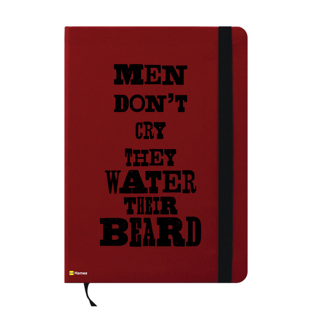 Water The Beard A6 Pocket Diary-Hamee India