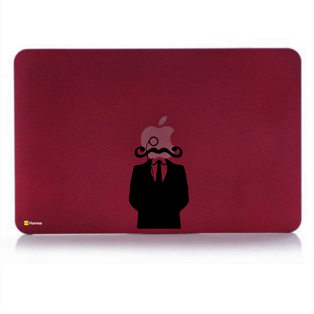 The Suited Man With Beard Wine Red MacBook Pro 13 (2015) Cover-Hamee India