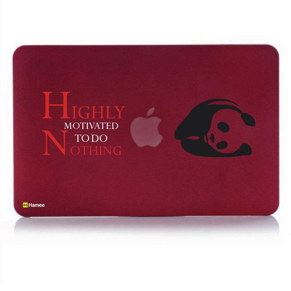 Dog Love MacBook Pro 13 Cover (2016) (A1706/A1708) (Wine Red)-Hamee India