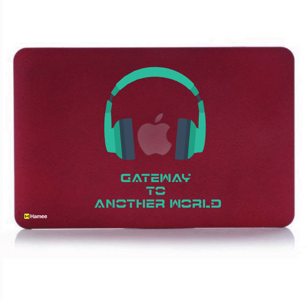 "Another World Wine Red MacBook Air 13"" Cover-Hamee India"
