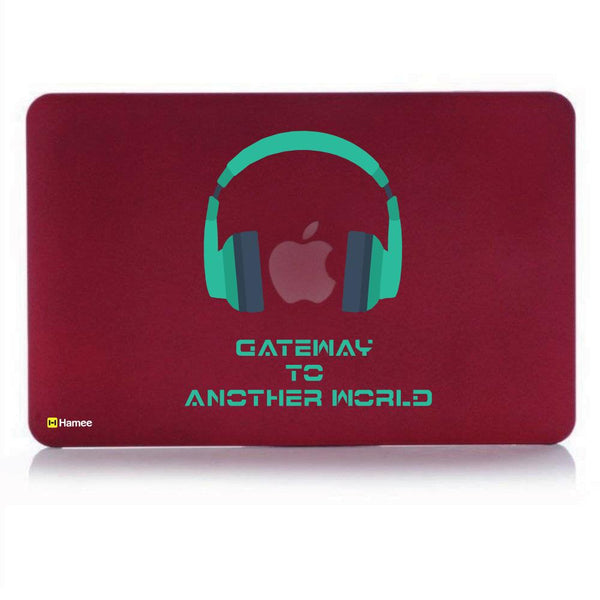 Another World MacBook Pro 13 Cover (2016) (A1706/A1708) (Wine Red)-Hamee India