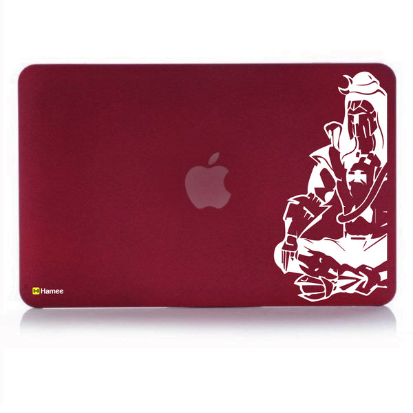 "Shiva Wine Red MacBook Air 13"" Cover-Hamee India"