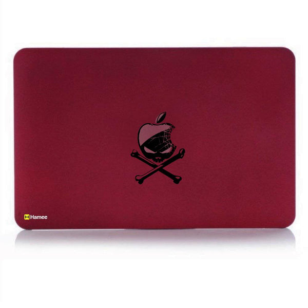 Apple Hazard MacBook Pro 13 Cover (2016) (A1706/A1708) (Wine Red)-Hamee India