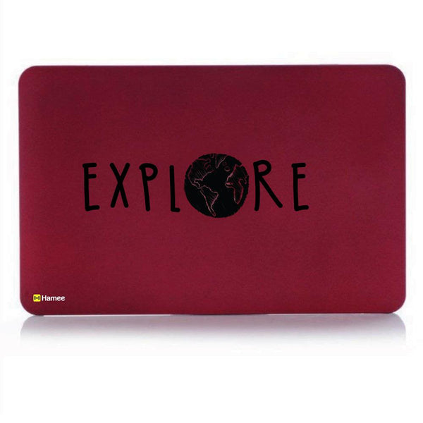 Explore MacBook Pro 13 Cover (2016) (A1706/A1708) (Wine Red)-Hamee India