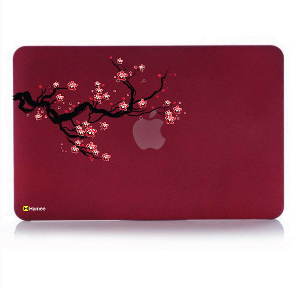 "Branch Wine Red MacBook Air 13"" Cover-Hamee India"