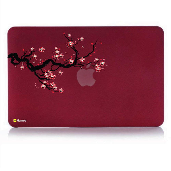 Branch MacBook Pro 13 Cover (2016) (A1706/A1708) (Wine Red)-Hamee India