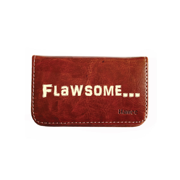 Flawsome Business / Visiting Card Holder-Hamee India
