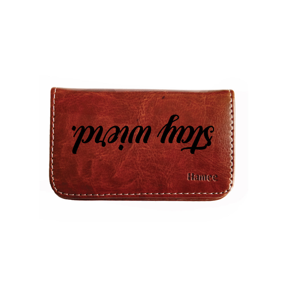 Coin Purse - Stay Weird-Hamee India