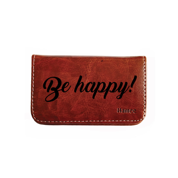 Be Happy Business / Visiting Card Holder-Hamee India