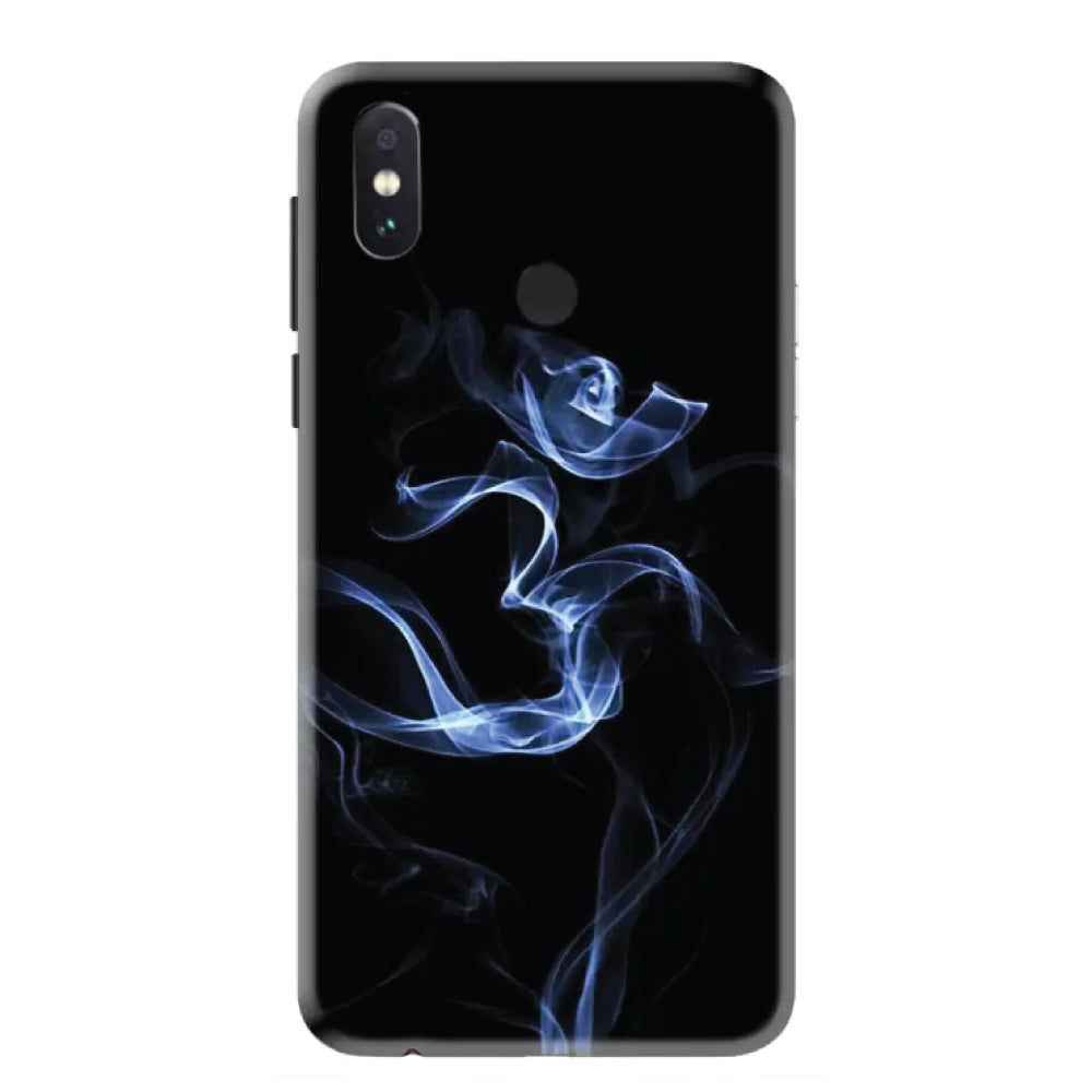 Om Fumes Redmi Note 5 Pro Back Cover-Hamee India