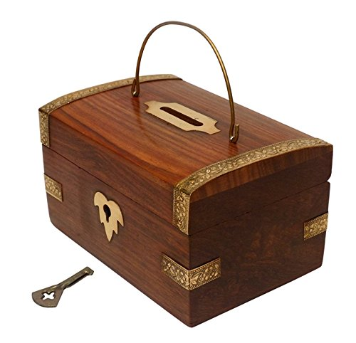 Money Bank Chest with Key-Hamee India