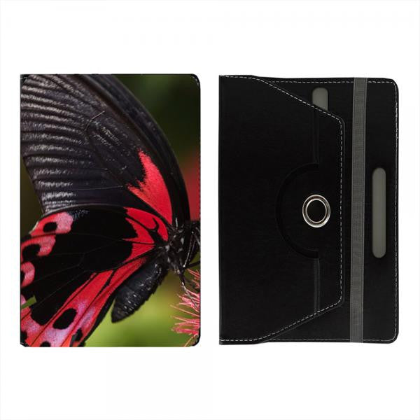 "Hamee Black Leather Rotating Flip Case for Kindle E-Reader (6"") - Design 101"