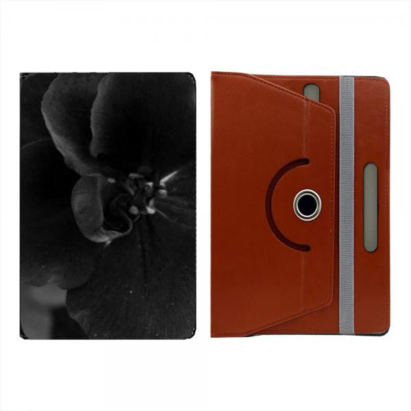 Hamee Brown Leather Rotating Flip Case for Kindle Voyage - Design 516