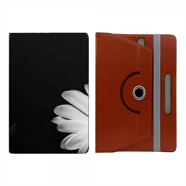 Hamee Brown Leather Rotating Flip Case for Kindle Voyage - Design 524