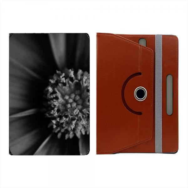 Hamee Brown Leather Rotating Flip Case for Kindle Voyage - Design 527