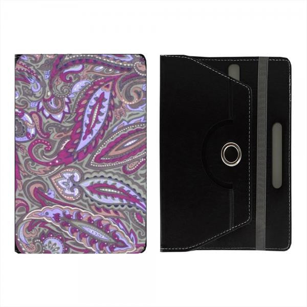 "Hamee Black Leather Rotating Flip Case for Kindle E-Reader (6"") - Design 1"