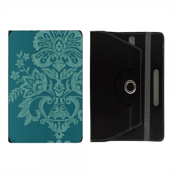 "Hamee Black Leather Rotating Flip Case for Kindle E-Reader (6"") - Design 924"