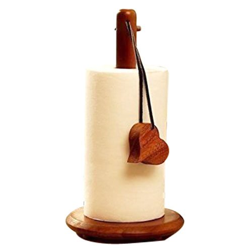 Paper Towel Holder for Kitchen with Decorative Heart Shaped Tag-Hamee India