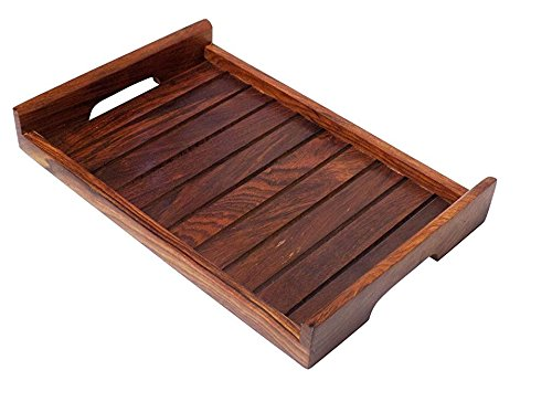 Wooden Serving Tray-Hamee India