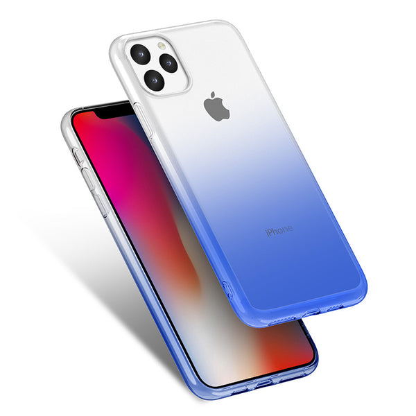 Gradient TPU Case for iPhone 11 - Navy Blue