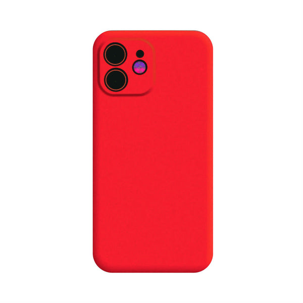 Full Body Silicone Case for iPhone 11 - Red