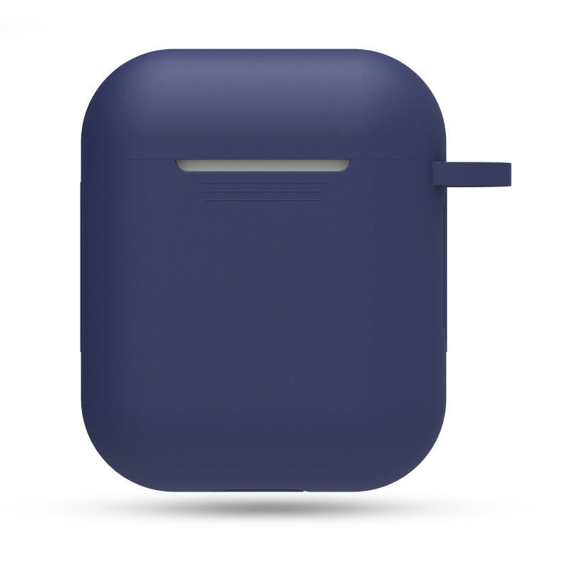 Silicon Airpods Case - Blue-Hamee India