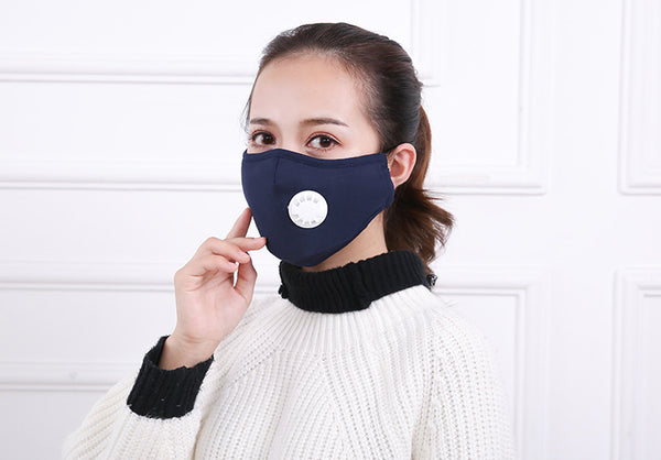 Anti Pollution Mask - Blue