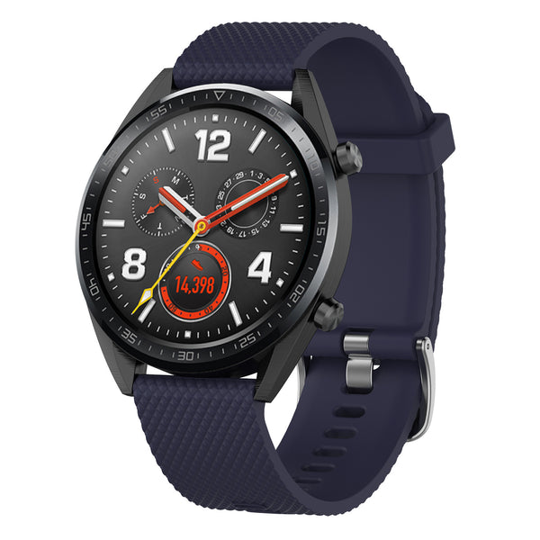 Dark Blue Silicon Strap - Huawei GT 2 (2019)(46mm)