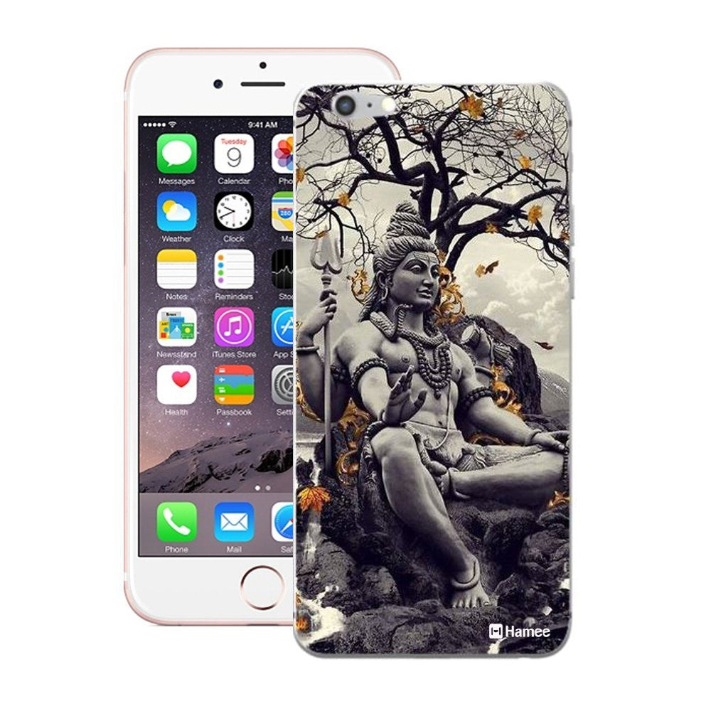 Hamee God Statue / Grey Designer Cover For Apple iPhone 6 / 6S-Hamee India