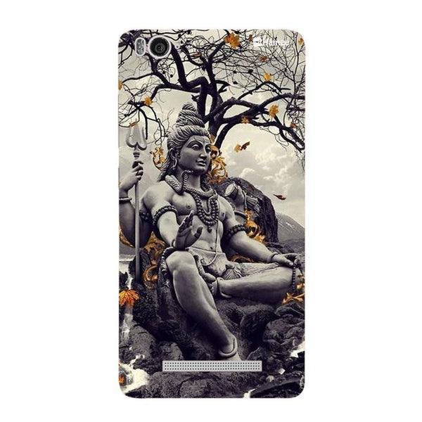 Grey Sitting God Redmi 3 / 3s Back Cover-Hamee India