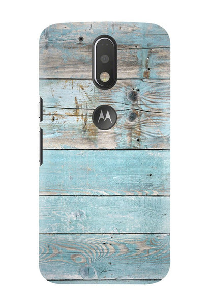 Hamee Designer Series - Blue Wood Printed - OnePlus 3T Phone Cover - Hamee India