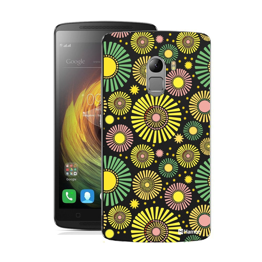 Hamee Floral Bloom / Yellow Designer Cover For Lenovo K4 Note-Hamee India