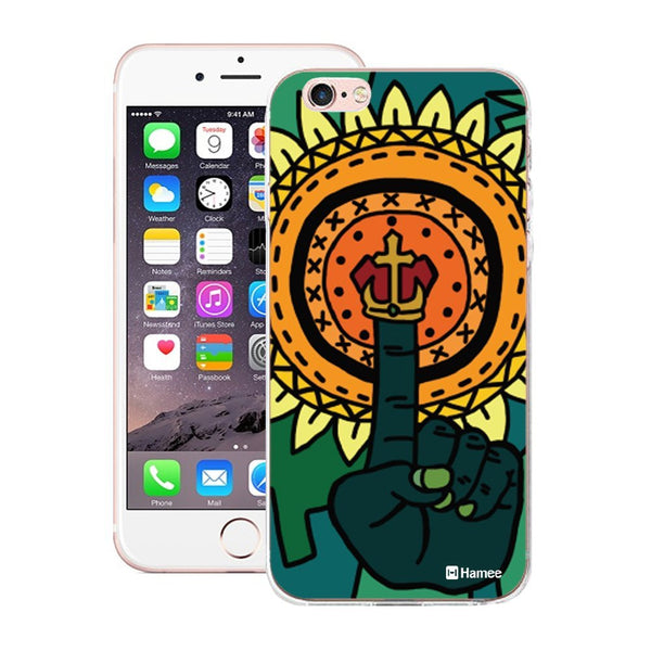 Hamee Abstract Hand Finger Designer Cover For Apple iPhone 6 Plus / 6S Plus - Hamee India