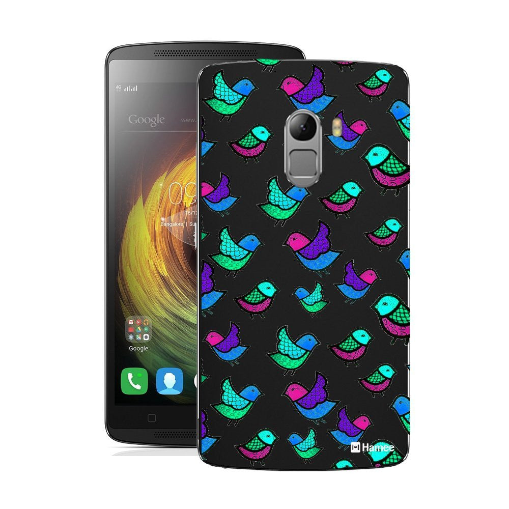 Hamee Multicolour Birds Designer Cover For Lenovo K4 Note - Hamee India