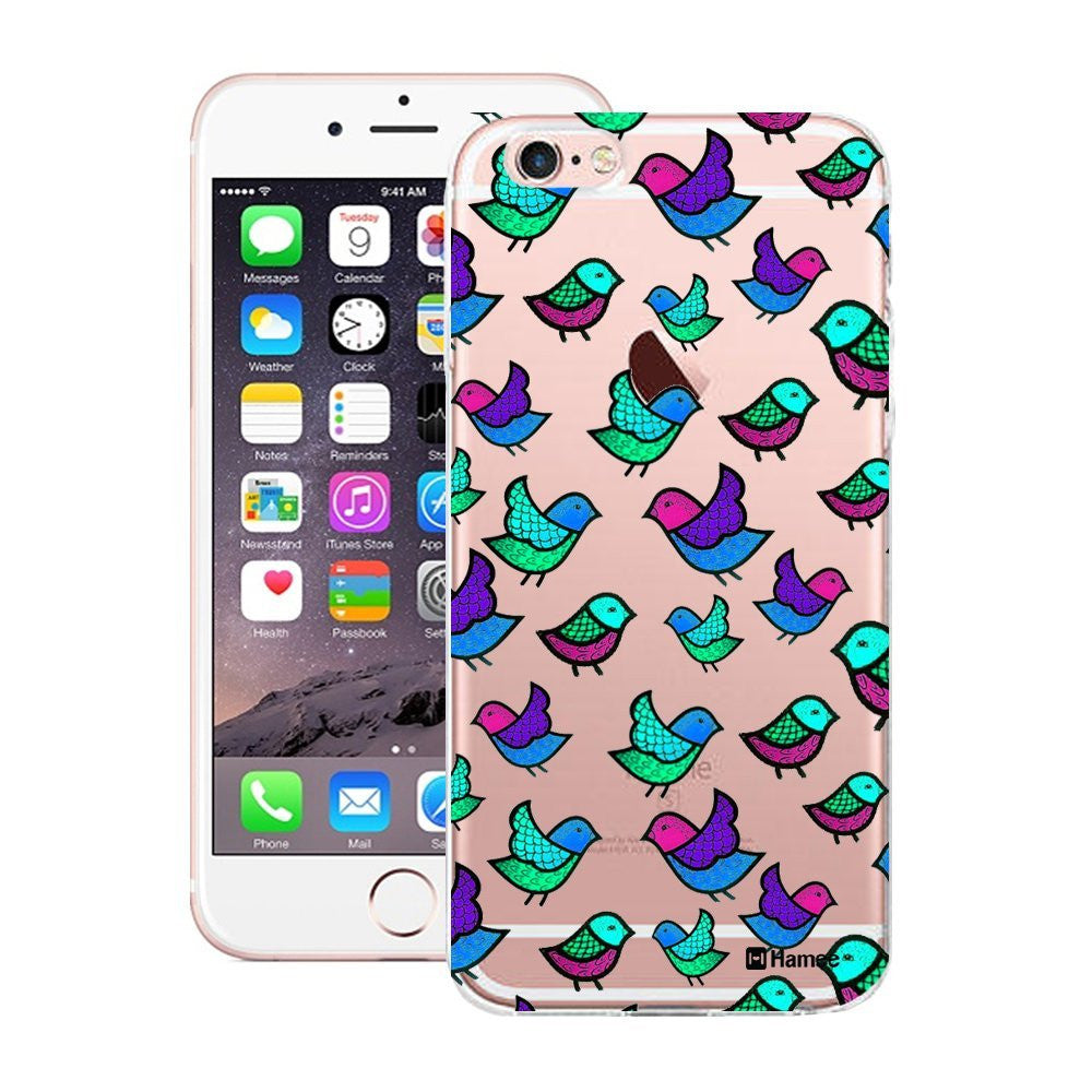 Hamee Blue Birds Designer Cover For Apple iPhone 6 / 6S-Hamee India